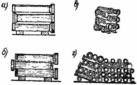 Укладка керамических труб в